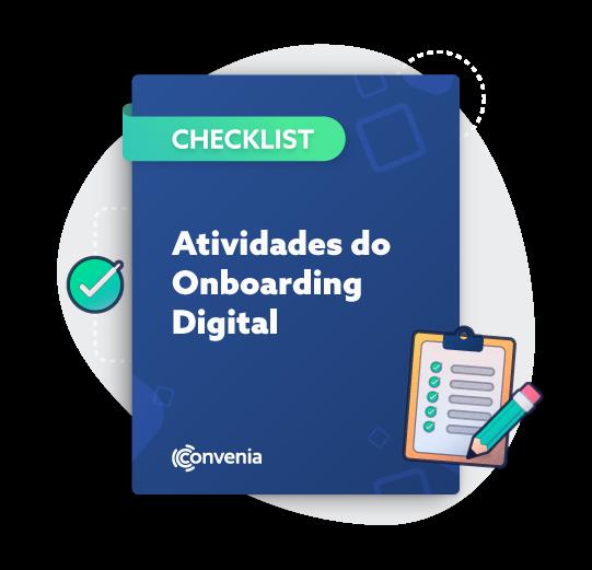 Checklist de atividades do onboarding digital