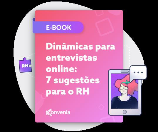 Ebook Dinâmicas para entrevistas online