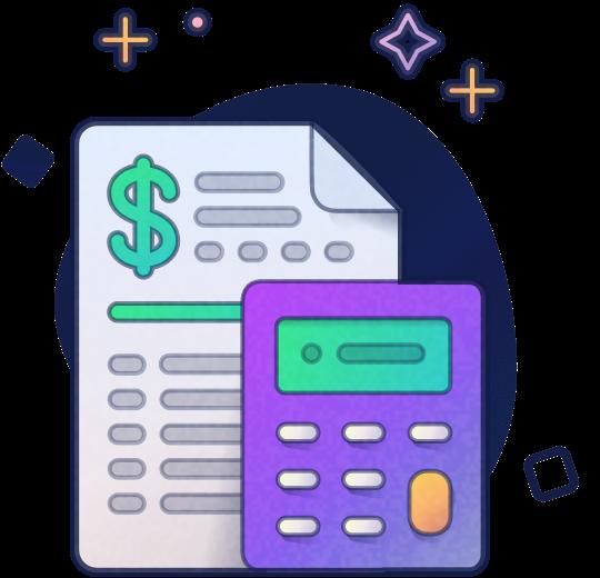 papel e calculadora
